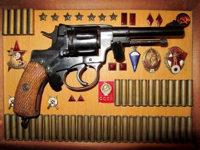 袖子,苏联象征,伞兵标志,RKK标志,Nagan
