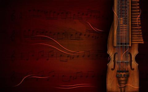 小提琴,弦乐,乐谱