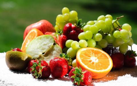 美味,食物,饮料,盘子,水果,壁纸,图片