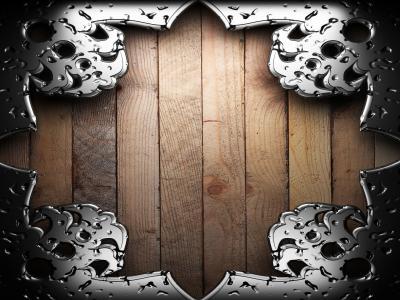雕刻,木材,金属