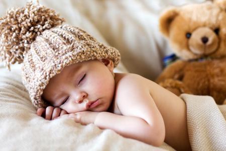 小孩,梦想,帽子,玩具