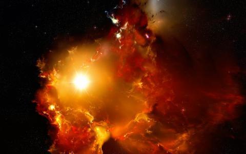 空间,宇宙,星,星,辐射,星云,星系