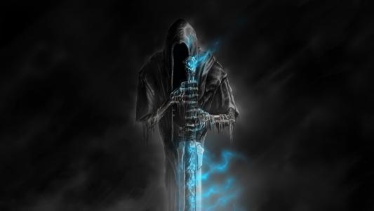死亡,剑,背景