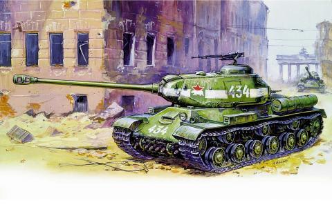 坦克,苏联,是2,重