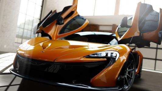 超级跑车,迈凯轮,宏观照片,帅气