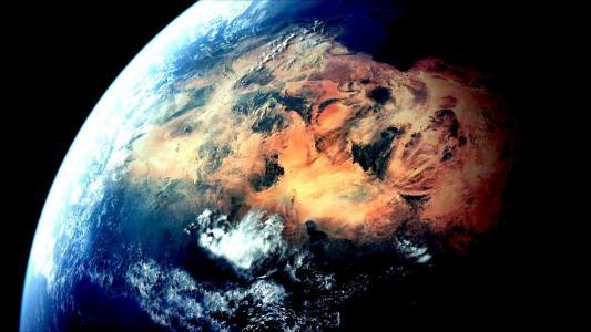 地球,糖,沙漠