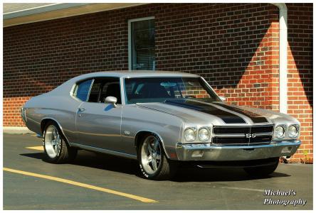 1970年,Chevelle,SS,经典