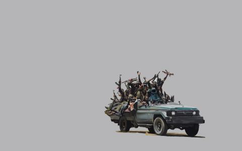 丰田,皮卡,黑色,自动机