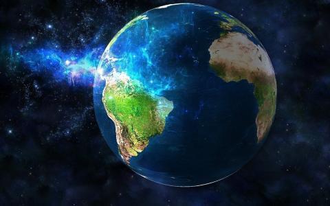 照片,空间,星球,地球,美丽