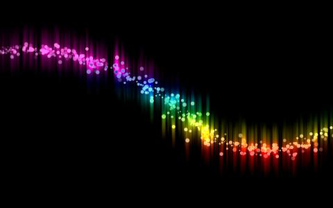 纹理,纹理,颜色,谱,波