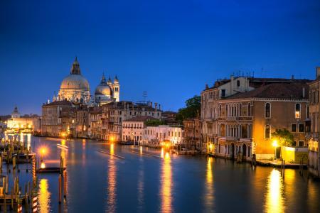 大运河,威尼斯,意大利,建筑,房屋,运河大