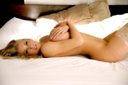 Kayleigh皮尔森,金发,丝袜