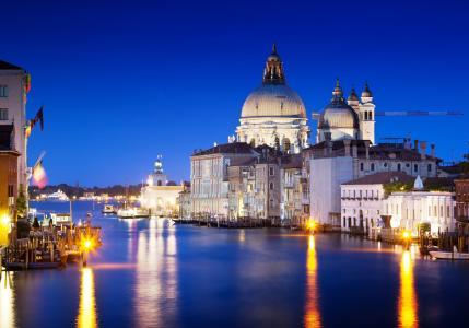 意大利,意大利,水,大运河,威尼斯,大运河,威尼斯