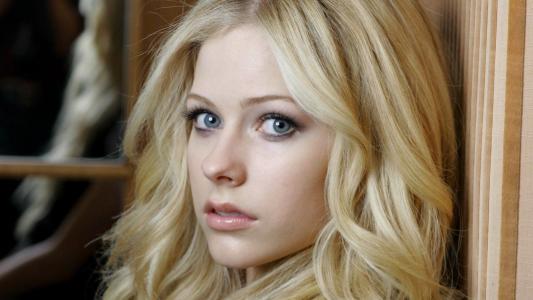 艾薇儿·拉维尼,性感,脸,神色,嘴唇,眼睛,头发,歌手,美女