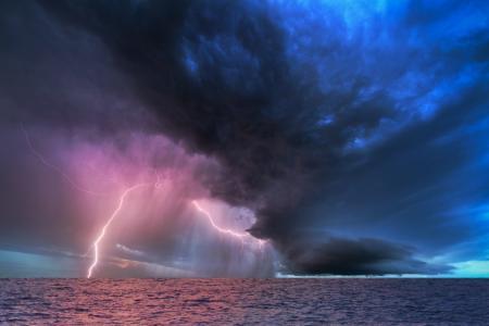 元素,天空,海