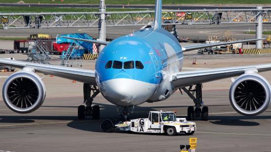 波音787,波音787,机场,飞机,白天,梦想班轮