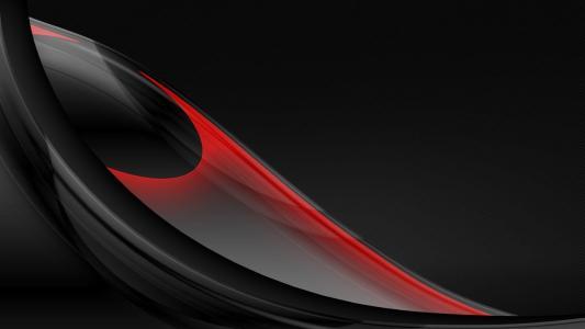 背景,线,弯曲,红色,黑色,美女