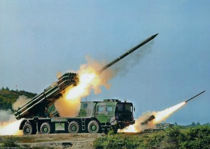 MLRS龙卷风,射击,齐射,俄罗斯