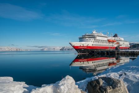 挪威的Kirkenes的Finnmarken船