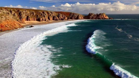 海洋,波浪