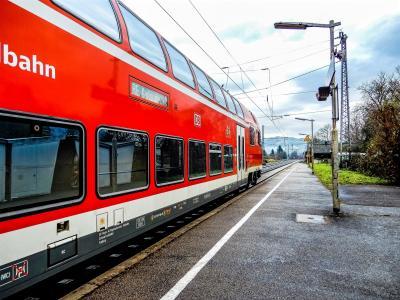 火车,车站,德国