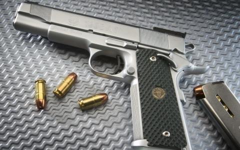 银手枪,墨盒,商店