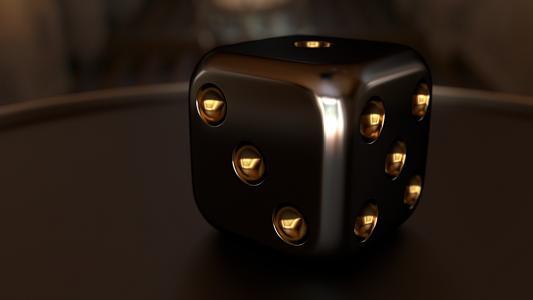 3d,多维数据集,骰子,头部开关,呈现,特写镜头