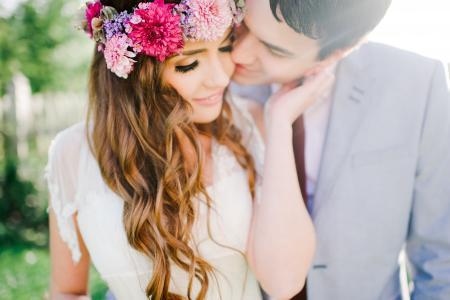 夫妇在爱,男人,新娘,新郎
