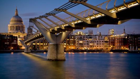 城市,建筑,桥梁,城市,建筑物