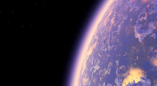 空间,星球,气氛,星星,艺术,呈现