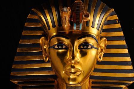 埃及,遗体,面具,图坦卡蒙