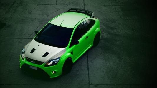 福特,重点,绿色