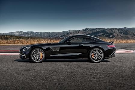 梅赛德斯 - 奔驰,黑色,Sides,2015,Brabus,AMG,GT,S,C190