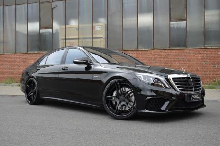 梅赛德斯 - 奔驰,MEC设计,AMG,S级,W222,黑色