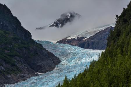 加拿大冰川风光