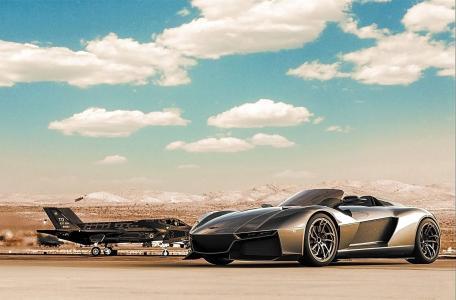 超级跑车,飞机,夫妇,宏观照片
