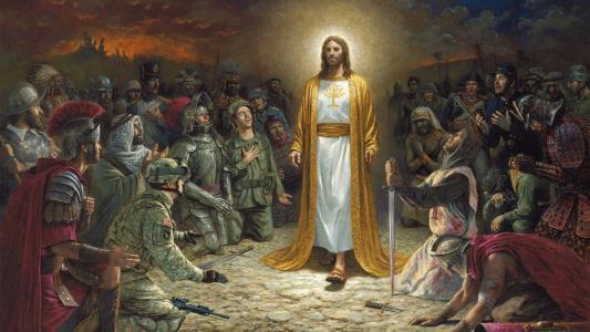 士兵,机关枪,圣堂武士,人,罗马人,剑