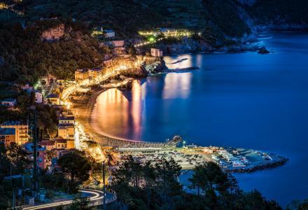 蒙特罗索,五渔村,美丽,意大利