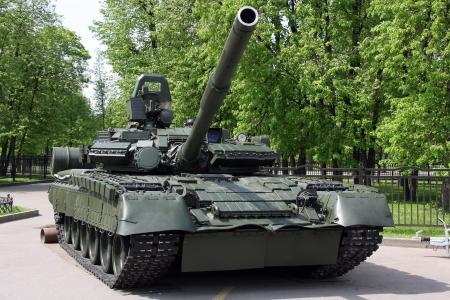枪口,t-80,坦克,公园,毛毛虫