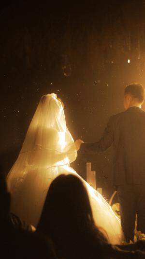 浪漫温馨的婚礼