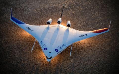 美国国家航空航天局,波音幻影,X  -  48B,波音