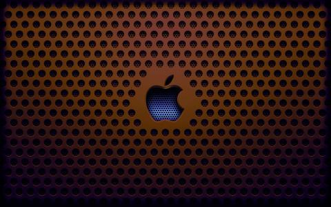 屏幕保护程序,格栅,苹果