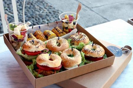 滋补,美味,水果,汉堡,食品