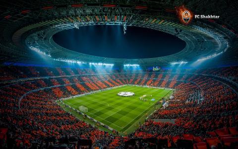 体育场,剧院,足球,足球,矿工,顿涅茨克,顿巴斯竞技场,怀旧之情