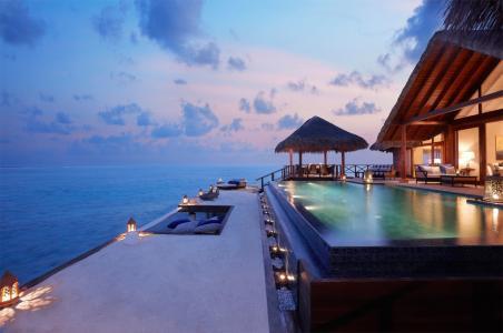 游泳池,室内,酒店,马尔代夫