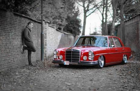亲照片,复古,超级跑车,调整,黑色和白色背景,亲照片,奔驰