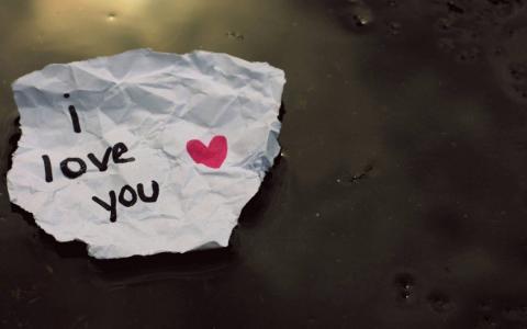 纸,美丽,我爱你