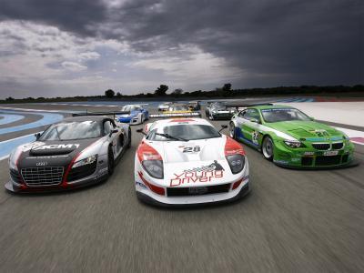 赛车,保罗·里卡尔,福特GT,冠军GT3,奥迪R8,路线