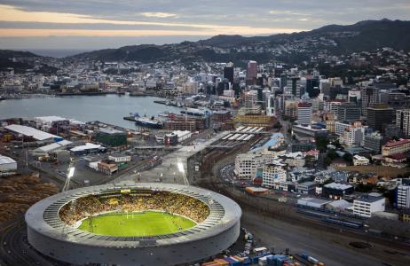 城市,体育场,新西兰,惠灵顿