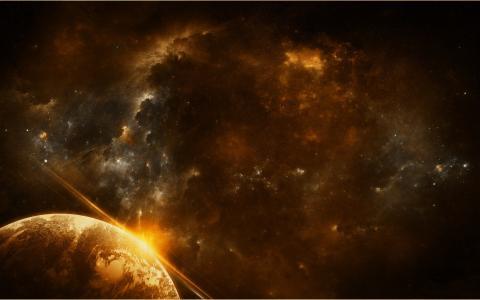 宇宙,空间,星星,星云,星球